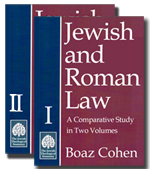 eBook Jewish and Roman Law: A Comparative Study (Two Volumes)