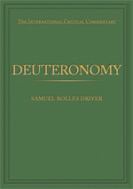 eBook The International Critical Commentary (ICC): DEUTERONOMY
