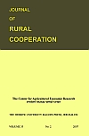 Journal of rural cooperation, Vol. 35, 2, 2007