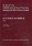 Studies in Bible